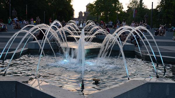 Muzička Fontana Tašmajdan